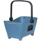 Koszyk rowerowy Basil Buddy niebieski dla psa