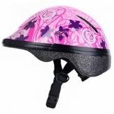 Kask rowerowy dziecięcy Prox Spidy XS różowy
