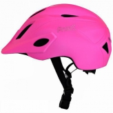 Kask rowerowy Prox dziecięcy Flash led S różowy