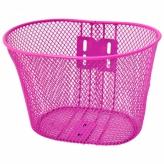 Koszyk rowerowy dziecięcy różowy
