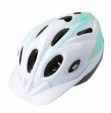 Kask rowerowy B-skin Tomcat S biało-turkusowy