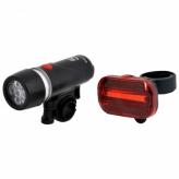 Lampki rowerowe  JY-KPL03 5LED/CobLED baterie
