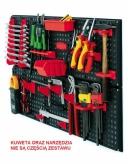 Tablica narzędziowa toolboard czerwony