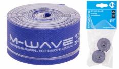 Opaska na obręcz rowerową M-Wave 16mm niebieska