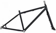 Rama i widelec fat bike cr-mo surowa 17