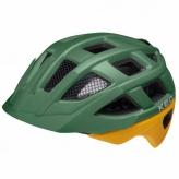 Kask rowerowy KED KAILU S zielony/żółty