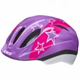 Kask rowerowy KED MEGGY II LilacStars XS