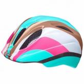 Kask rowerowy KED MEGGY Trend RainbowBlue S/M