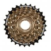 Wolnobieg Shimano MF-TZ500-6 index brązowy