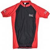 Koszulka rowerowa Prox damska L czarno-czerwona