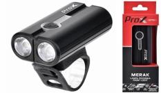 Lampka rowerowa przednia Prox Merak USB