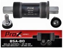 Oś suportu Prox bsa-80 119mm cr-mo nakrętki stal