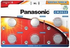 Bateria cr2032 panasonic 6 szt. blister