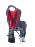 Fotelik rowerowy HTP Elibas wspornik szary