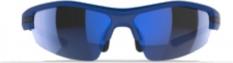 Okulary przeciwsłoneczne Mirage niebieskie 3 soczewki