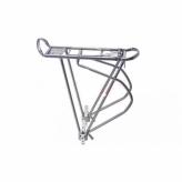 Bagażnik  rowerowy O-stand 24-29 do sakw srebrny