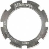 Nakrętka kontrująca Miranda Bosch 4 5mm M30 srebrna