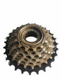 Wolnobieg rowerowy 7-rzędowy index czarno/brązowy