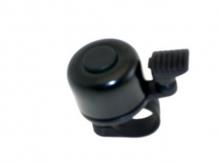 Dzwonek rowerowy mały gong czarny