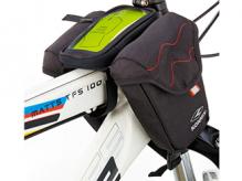 Torba rowerowa Konnix na ramę smartfon czarna
