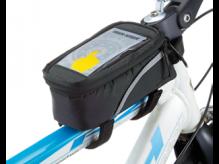 Torba rowerowa Konnix na ramę czarna smartfon