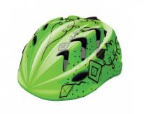 Kask rowerowy b-skin  pro kites zielony XS