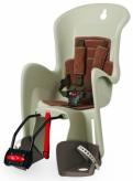 Fotelik rowerowy Polisport Bilby FF krem/brązowy
