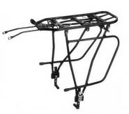 Bagażnik rowerowy tylny 24/28 alu kw-680-09 czarny