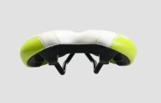 Siodełko rowerowe San Marco Era Start-up białe/zielone