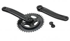 Mechanizm korbowy alu 170x38 czarny