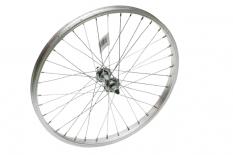 Koło rowerowe przednie 20 srebrne
