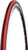 Opona rowerowa CST Czar C-1406 700x25 czerwona/czarna