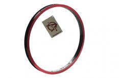 Obręcz rowerowa BMX Alienation Runaway 20 36H czarna/czerwona