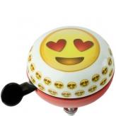 Dzwonek rowerowy Widek 80mm emoticon serca