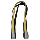 Gumy na bagażnik rowerowy Cortina Ecomo 3 taśmy żółty - czarny