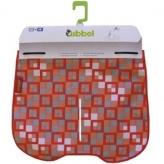 Fartuch do szyby fotelika Qibbel kwadraty czerwone