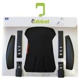 Zestaw do stylizacji przedniego fotelika rowerowego Qibbel czarny