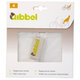 Pokrowiec przeciwdeszczowy na tylny fotelik rowerowy Qibbel