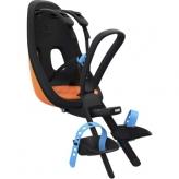 Fotelik dziecięcy Yepp Nexxt Mini Thule na rower przód czarny - pomarańczowy