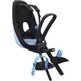 Fotelik dziecięcy Yepp Nexxt Mini Thule na rower przód czarny - niebieski