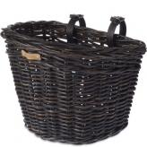 Koszyk rowerowy przedni Basil Darcy ciemny brąz