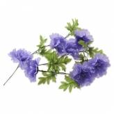 Kwiatki na rower Basil fioletowe