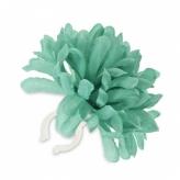 Kwiat na kierownicę chryzantema zielona Basil