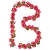 Wianek ozdobny 130cm różowy
