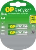 Akumulatorki r03 aaa gp recyko 2 szt. blister