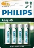 Baterie r6 aa philips longlife 4 szt.