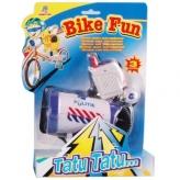 Syrena policyjna z megafonem Bike Fun