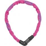 Zapięcie rowerowe Abus 5805c/75 szyfr różowe