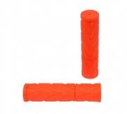 Chwyty rączki rowerowe 836 fluo pomarańczowy box
