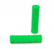 Chwyty rączki rowerowe 836 fluo zielony box